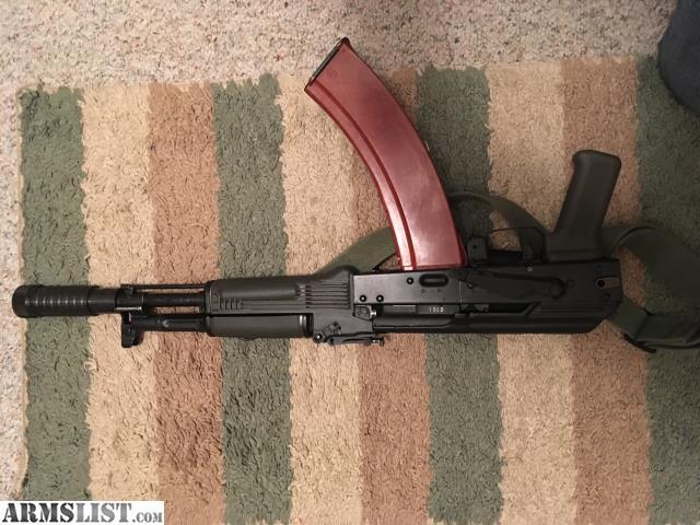 ARMSLIST - For Sale/Trade: Bulgarian arsenal 104/cr ak74