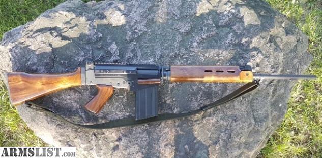 ARMSLIST - For Sale: FN FAL G1 COONAN WALNUT WOOD