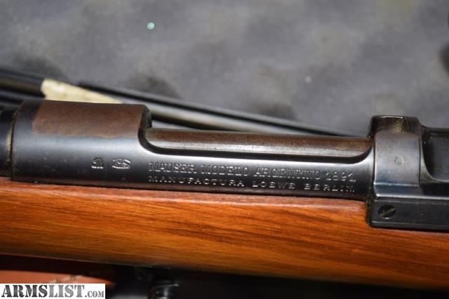 ARMSLIST - For Sale: 1891 Argentine Mauser