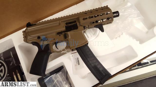 Daftar Harga Armslist For Sale Sig Mpx Pistol 4 5 Barrel