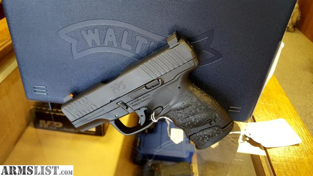 armslist for sale walther pps with f8 night sights
