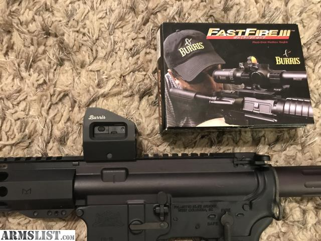 Armslist For Saletrade Burris Fastfire 3 With Arf3 Mount