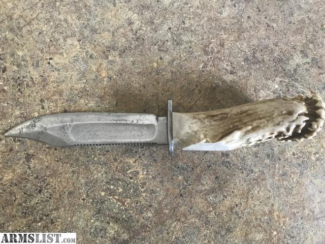 Armslist For Saletrade Antler Knife