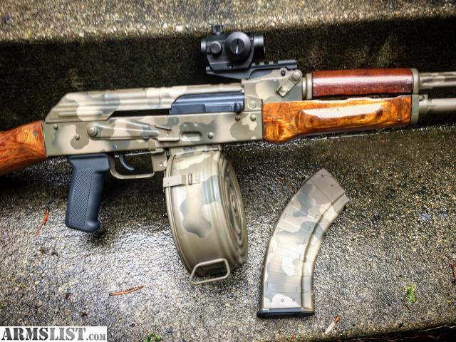 ARMSLIST - For Sale/Trade: Custom Maadi AK