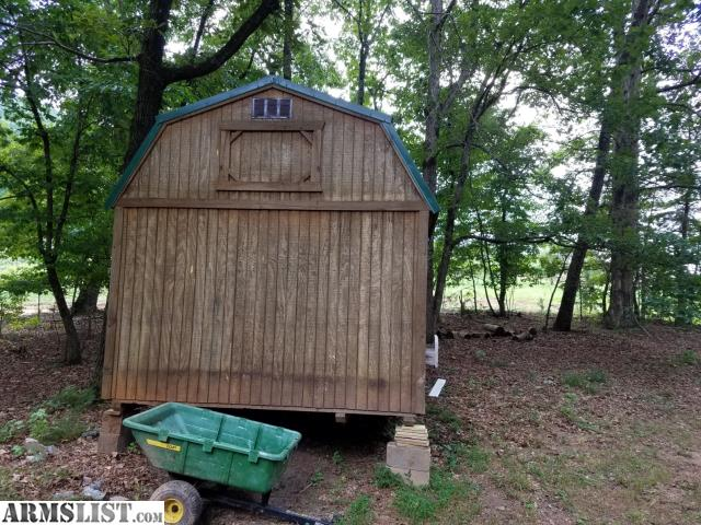 ARMSLIST - For Sale/Trade: 10x20 Graceland lofted barn with