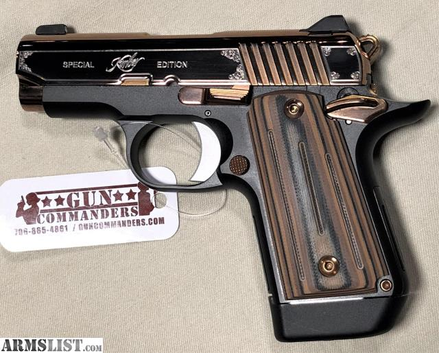 ARMSLIST - For Sale: Kimber Micro 9 Rose Gold