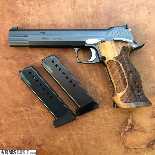 Sig P210 For Sale - Frankelectronicscaraudiowestpalmbeach