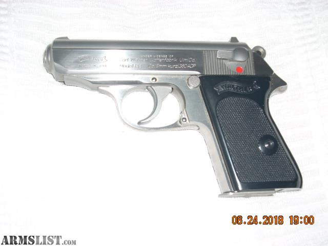 ARMSLIST - For Sale: Walther PPK  380