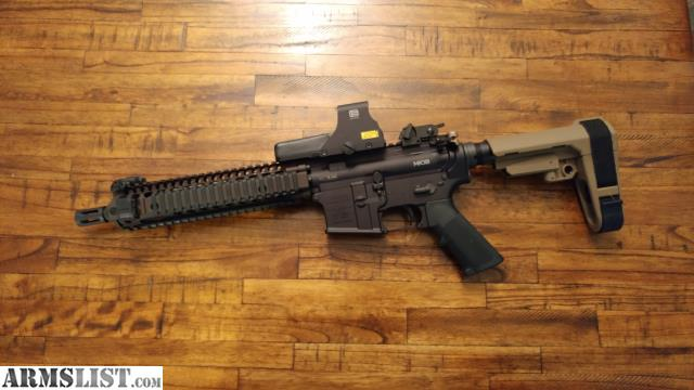 Ps90 For Sale >> ARMSLIST - For Sale/Trade: Daniel Defense MK18