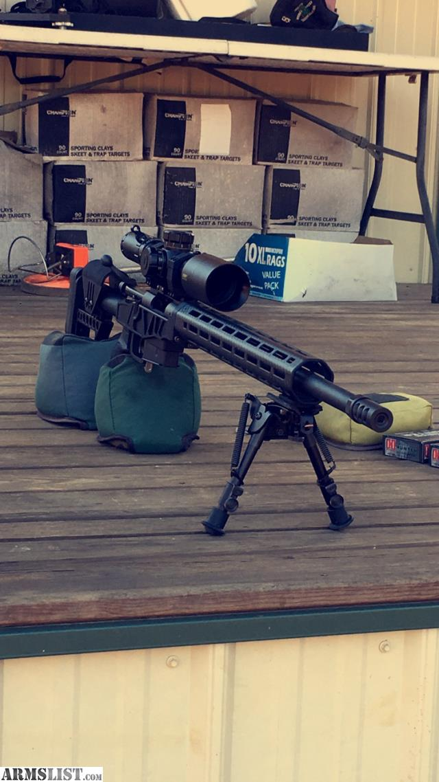 ARMSLIST - For Sale: Custom 6 5 CM Remington 700 acc-sd XLR