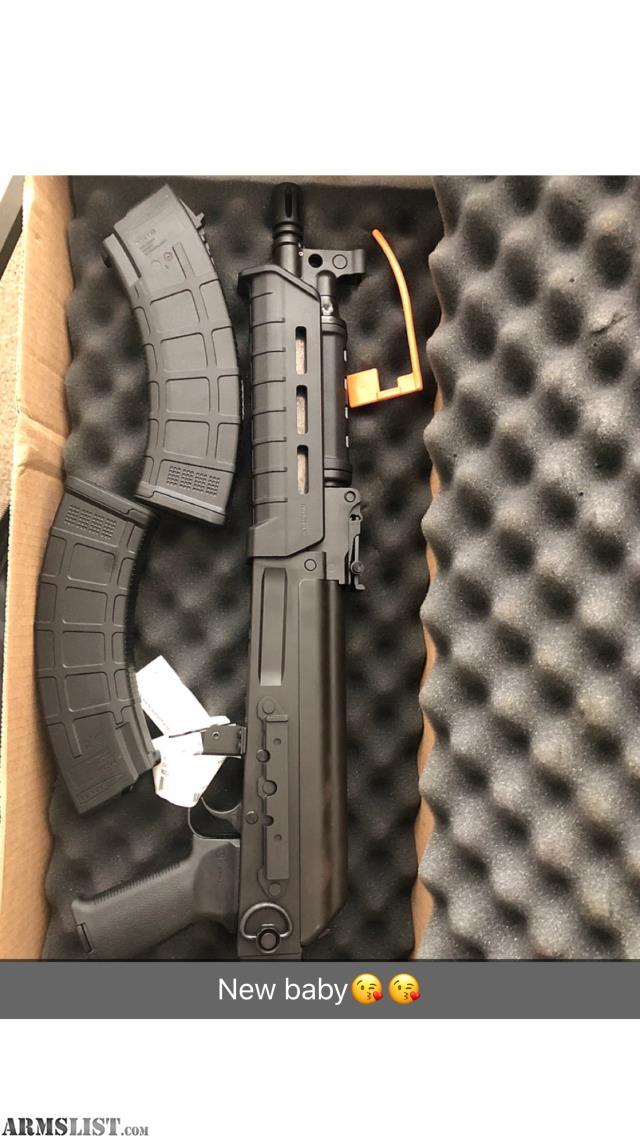 ARMSLIST - For Sale/Trade: Ak47 pistol never fired tradenfor