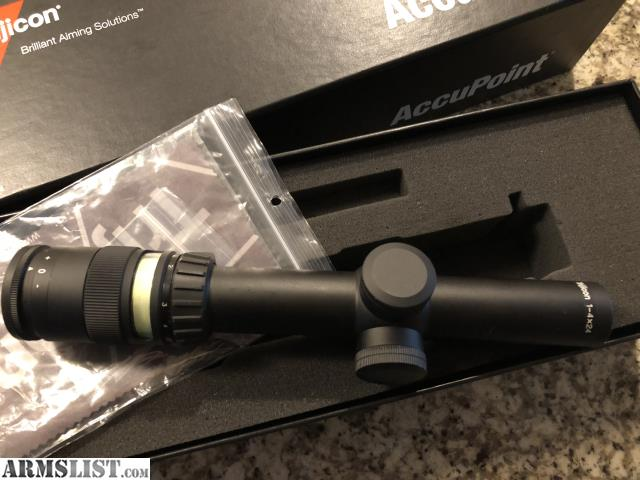 armslist for sale trade trijicon tr24 3g accupoint 1 4x