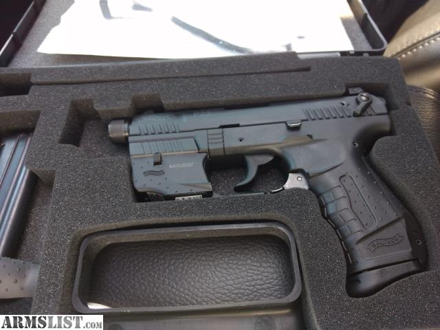 ARMSLIST - For Sale: WALTHER P22 TACTICAL THREADED BARREL