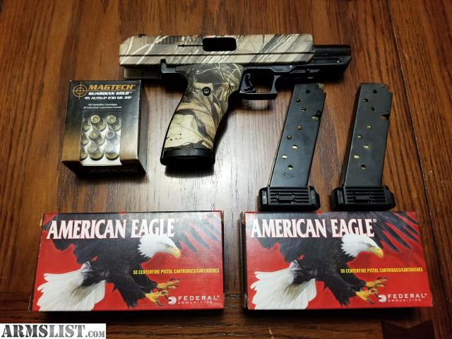 ARMSLIST - For Sale: Camo 45 ACP Hi Point Pistol with Ammo