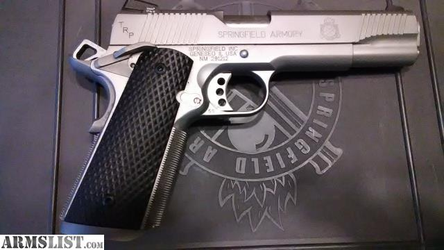 ARMSLIST - For Sale: 1911 SPRINGFIELD ARMORY 1911 TRP LOADED
