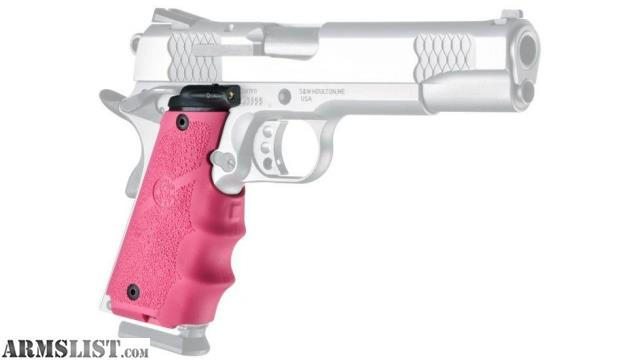 ARMSLIST - For Sale: Hogue 1911 Government full size laser grips PINK
