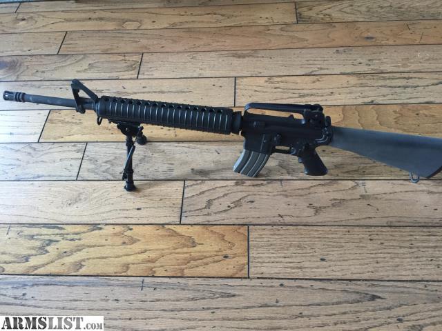 "ARMSLIST - For Sale: AR15 Bushmaster A2 20"""
