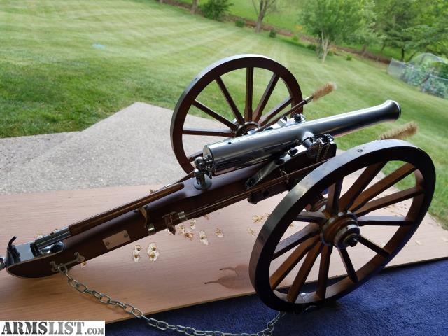 ARMSLIST - For Sale: Black powder cannon