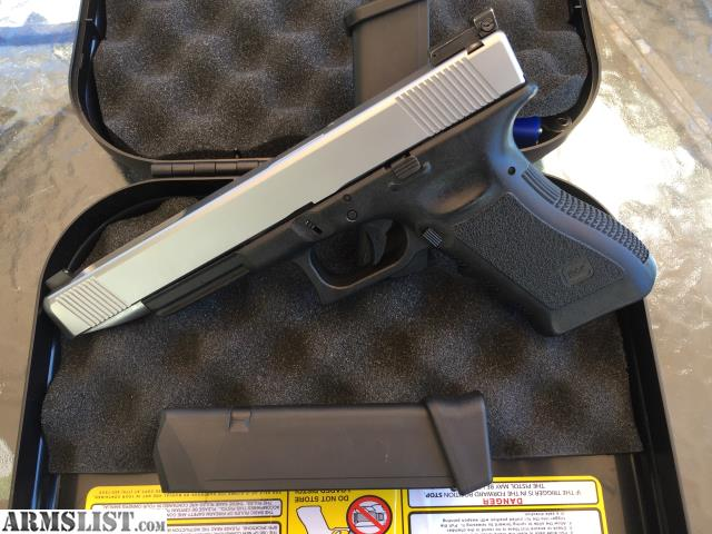 ARMSLIST - For Sale/Trade: Glock 17L Custom Stainless