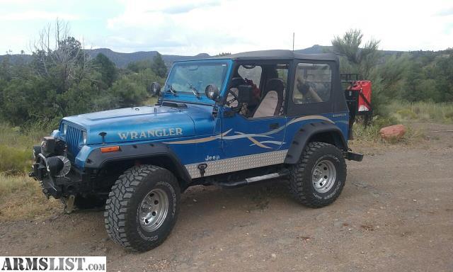 For Sale Trade 1991 YJ Jeep Wrangler