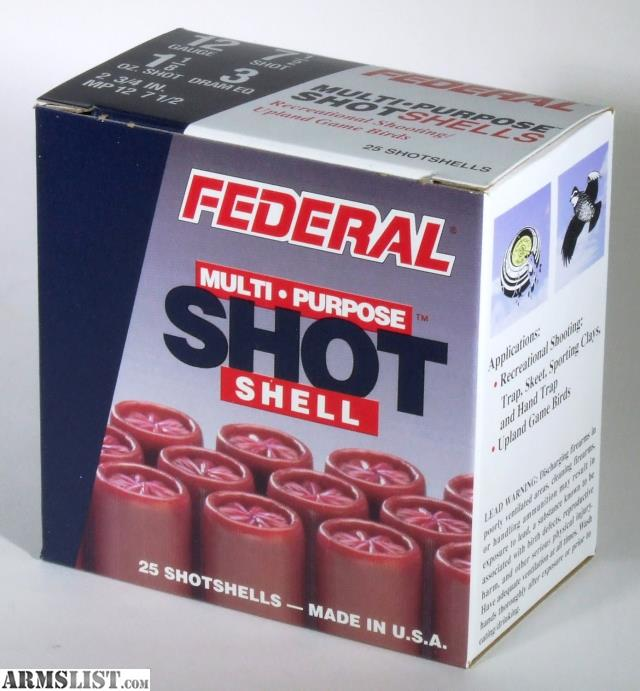 For Sale: Federal Multi-Purpose Shotshells