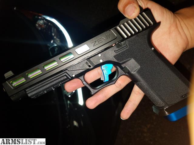 ARMSLIST - For Sale: LIKE NEW custom Glock 34 Slide