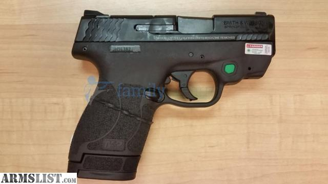 Armslist For Sale S Amp W M Amp P9 Shield M2 0 Ct Green Laser