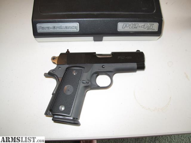 ARMSLIST - For Sale/Trade: Para Ordnance P12-45, 1911