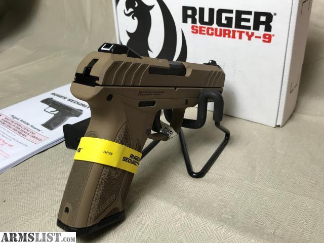 ARMSLIST - For Sale: Ruger Security 9