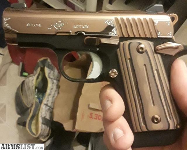 ARMSLIST - For Sale/Trade: Kimber micro 9 rose gold