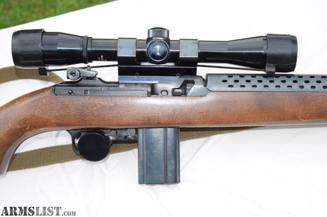 ARMSLIST - For Sale: Universal M1 Carbine with Scope and Mount