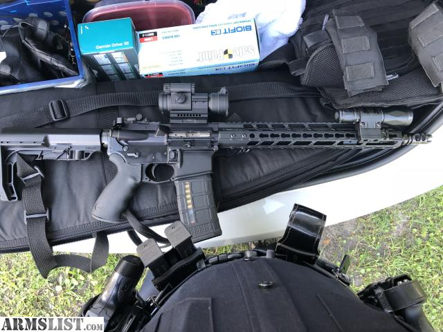 ARMSLIST - For Sale: Spikes AR15 with Geissle SSA-E and