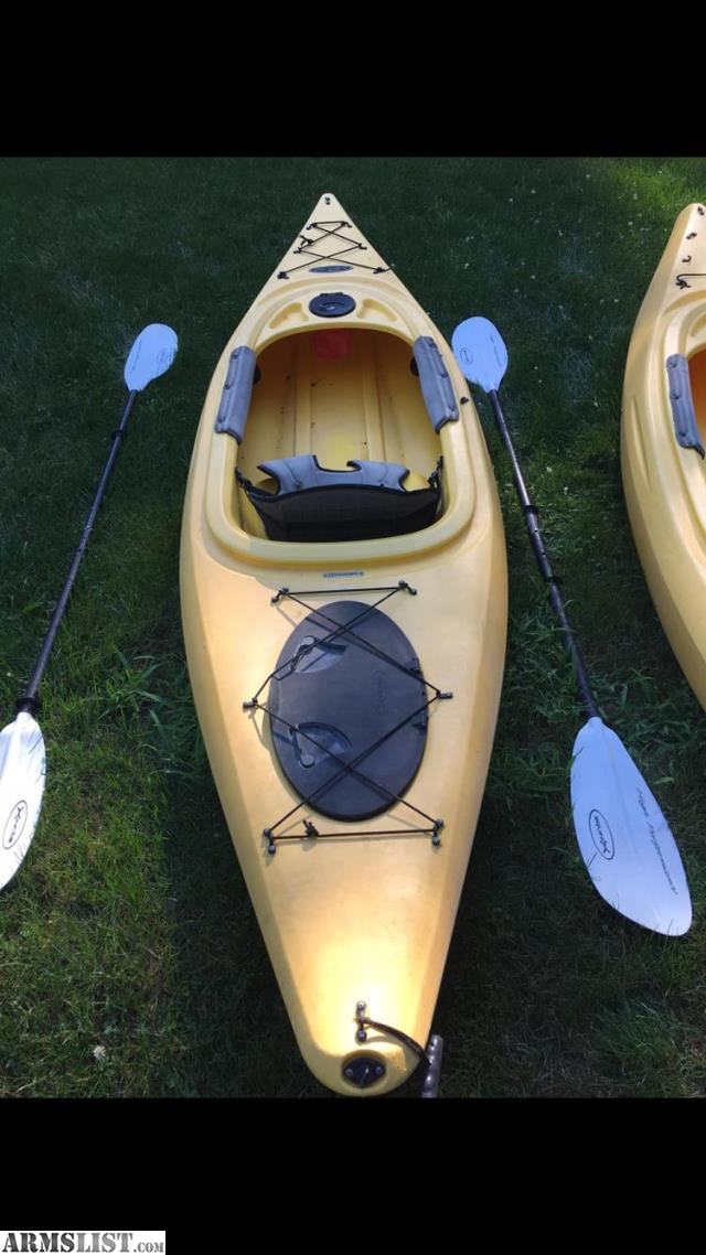 ARMSLIST - For Sale: 2 (two) Equinox 10 4' Kayaks