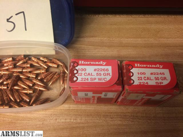 ARMSLIST - For Trade: 223 dies/bullets/primers for ammo