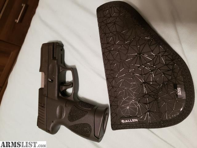 ARMSLIST - For Trade: Taurus G2C 9mm
