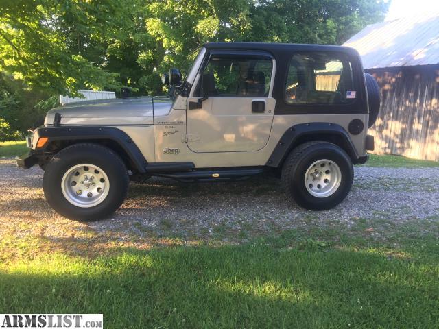 armslist for sale jeep wrangler. Black Bedroom Furniture Sets. Home Design Ideas
