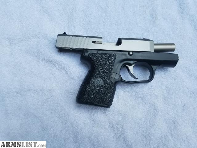 ARMSLIST - For Sale: Kahr CM9 with Talon Rubber Grips + 3 magazines