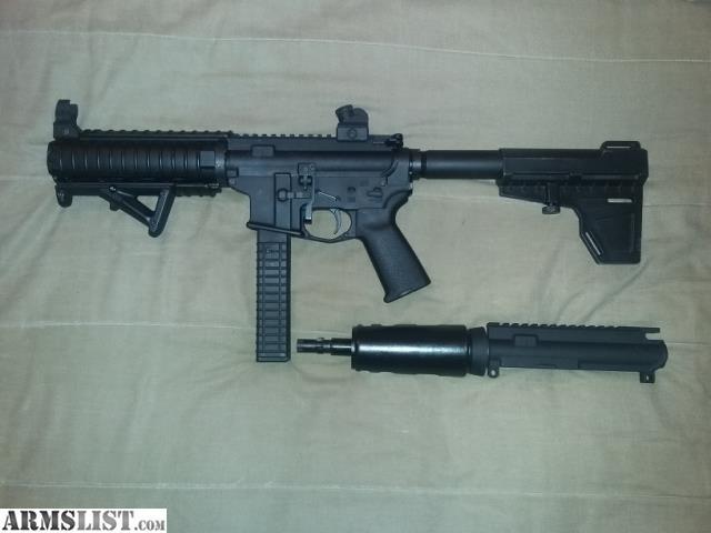 ARMSLIST - For Sale: AR9 / 9MM / AR-9 PISTOL - COLT MAG SET-UP