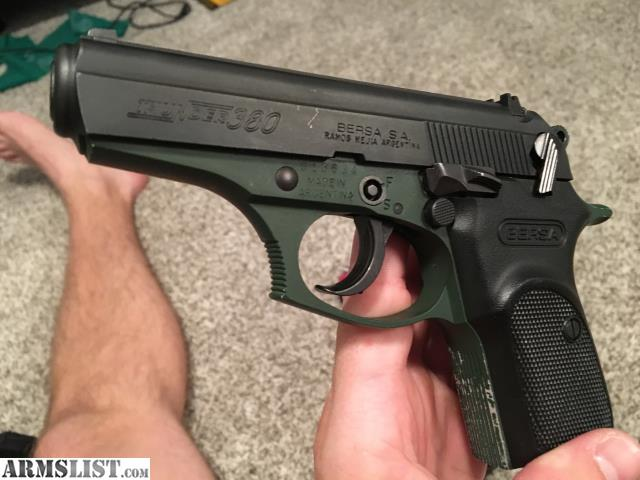 ARMSLIST - For Sale: Bersa Thunder  380 OD Green w/ 3 mags