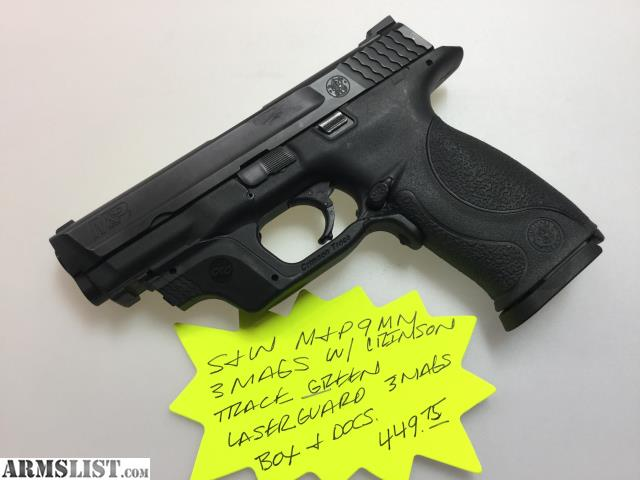 ARMSLIST - For Sale: Smith & Wesson M&P9, 9mm, 3 Mags