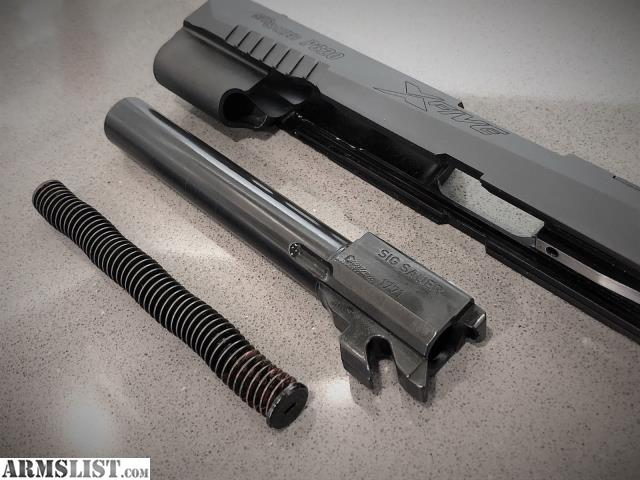 ARMSLIST - For Sale: Sig Sauer P320 X5 Slide, Bull barrel, 9mm X