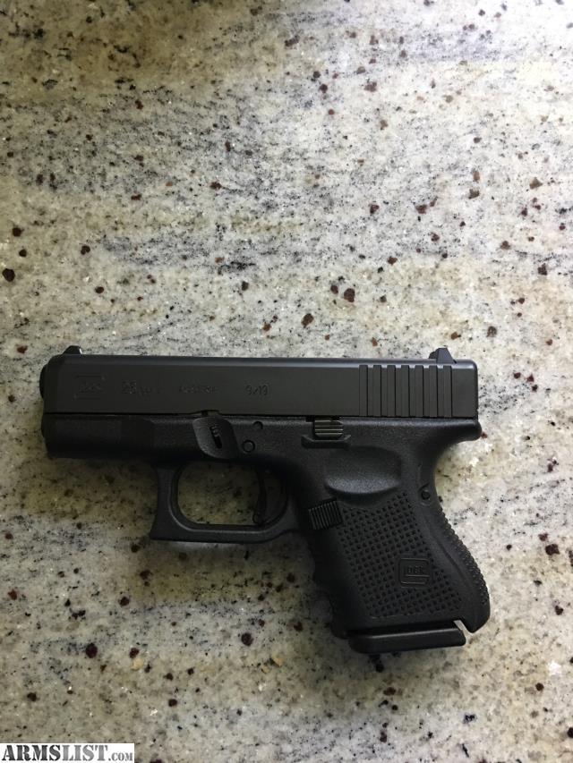 Armslist For Sale Glock 26 Gen 4 9mm