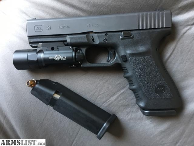 ARMSLIST - For Sale: Glock 21 Gen 3