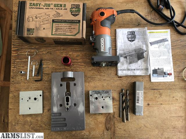 ARMSLIST - For Sale/Trade: Easy Jig Gen 2 ar15/ar9 only with