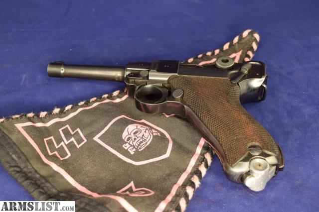 ARMSLIST - For Sale: Mauser 42 Code Luger C1940 Nazi marked