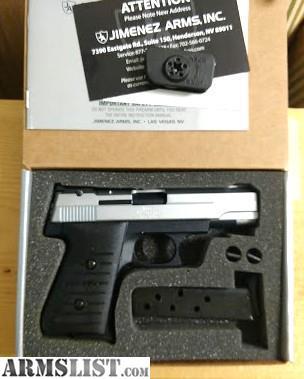 ARMSLIST - For Sale: Brand New Tu-Tone Jimenez Arms Target-380 Semi