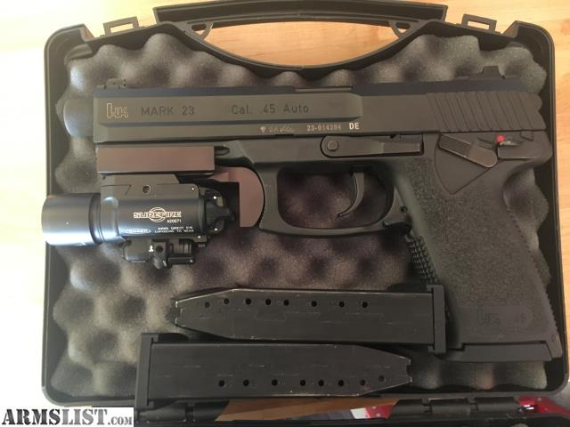 ARMSLIST - For Sale: HK Mk23  45 ACP Semi-Auto Pistol
