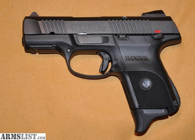 ARMSLIST - For Sale: Ruger SR9c Compact 9mm Luger Pistol