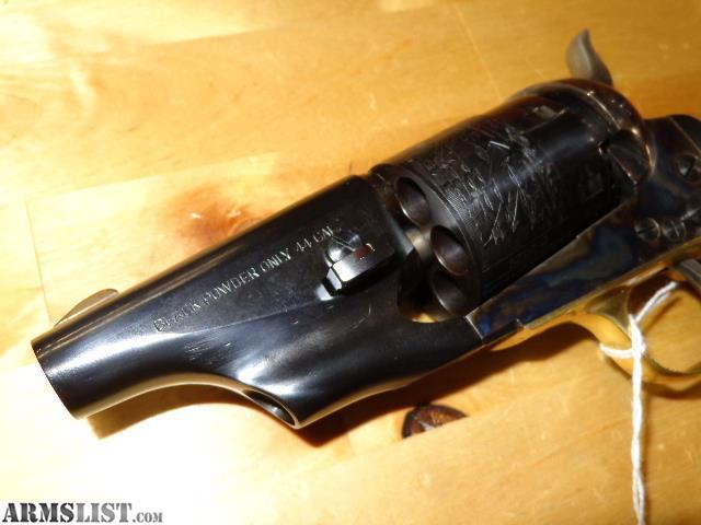 ARMSLIST - For Sale: Pietta 1860 Army Snub Nose  44 Black
