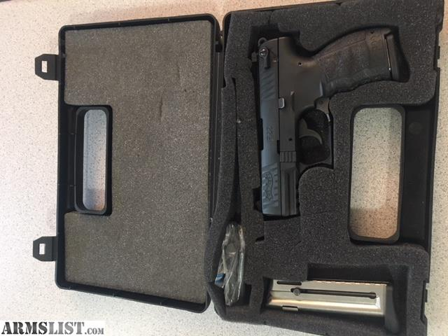 ARMSLIST - For Sale: Walther P22 with Fobus holster